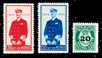 Norvège 1952 - AFA 390/92 - Neuf