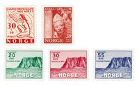 Norvège 1953 - AFA 393/97 - Neuf