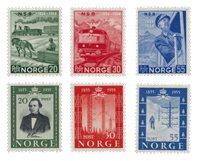 Norvège 1954 - AFA 398/403 - Neuf