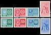 Norge 1955 - AFA 404/09 + 416/17 - Postfrisk