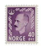 Norvège 1955-56 - AFA 412 - Neuf