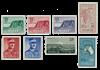 Norge 1957 - AFA 422/27 + 430/31 - Postfrisk