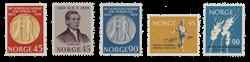 Norge 1959 - AFA 442/44 + 451/52 - Postfrisk