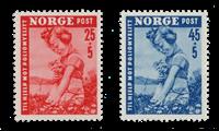 Norge 1950 - AFA 365/66 - Postfrisk