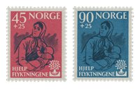 Norvège 1960 - AFA 457/58 - Neuf
