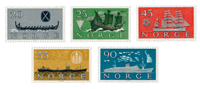 Norway 1960 - AFA 459/63 - Mint