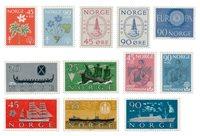 Norvège 1960 - AFA 453/64 - Neuf