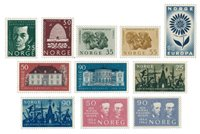 Norvège 1964 - AFA 526/36 - Neuf