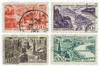 France 1949 - YT A24-27 - Oblitéré