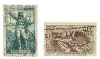 France 1936 - YT 314-15 - Oblitéré