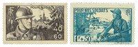 France 1940 - YT 451-52 - Oblitéré