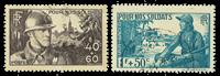 Frankrig 1940 - YT 451/452 - Stemplet