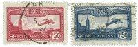 France 1930 - YT A5-A6 - Oblitéré