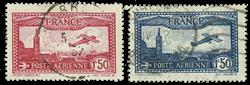 Frankrig 1930 - YT A5/A6 - Stemplet
