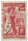 France 1938 - YT 401 - Oblitéré
