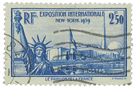 Frankrig 1940 - YT 458 - Stemplet