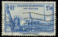 France 1940 - YT 458 - Oblitéré