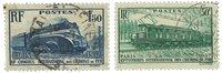 Frankrig 1937 - YT 339-40 - Stemplet