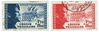 France 1942 - YT 565-66 - Oblitéré