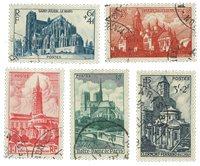 Frankrig 1947 - YT 772/776 - Stemplet