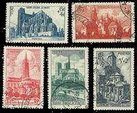 France 1947 - YT 772-76 - Oblitéré