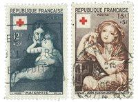 France 1954 - YT 1006-07 - Oblitéré
