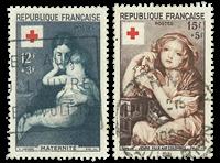 Frankrig 1954 - YT 1006-07 - Stemplet