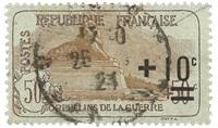 Frankrig 1922 - YT 167 - Stemplet