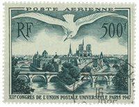 Frankrig 1947 - YT A20 - Stemplet