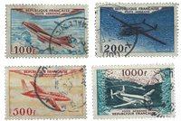 France 1954 - YT A30-33 - Oblitéré