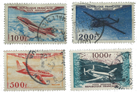 France 1954 - YT A30-33 - Cancelled