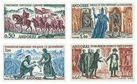 Andorre français 1963-64 - YT 167/70 - Faits historiques