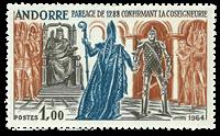 Andorra fransk YT 170 Fransk Andorra Historiske begivenheder