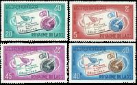 Laos 1966 - YT 142-45 - Postfrisk