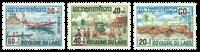 Laos 146-48 * 1967 Surtaxe au profit des inondés