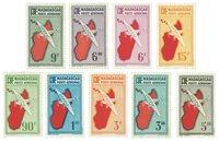 Madagascar PA 16-24, carte