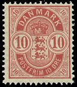 Danmark  bogtryk AFA 35