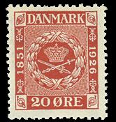 Danmark  bogtryk AFA 155