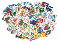 Bulgaria 200 different stamps