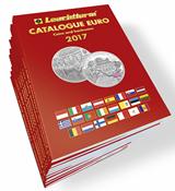 EURO-Katalog 2017 - Mønter og sedler - sprog engelsk