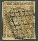 France - YT 1 - Oblitéré
