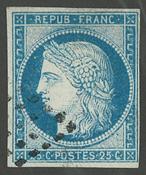 Frankrig - YT 4 - Stemplet