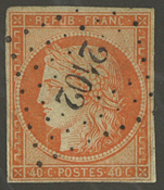 France - YT 5 - Oblitéré