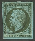 Frankrig - YT 11 - Stemplet