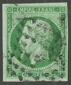 Frankrig - YT 12 - Stemplet