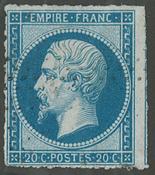 France - YT 14B - Oblitéré