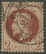 Frankrig - YT 26 - Stemplet