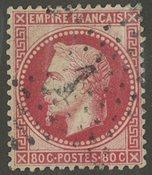 Frankrig - YT 32 - Stemplet