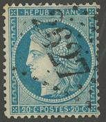 Frankrig - YT 37 - Stemplet
