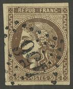 Frankrig - YT 47 - Stemplet